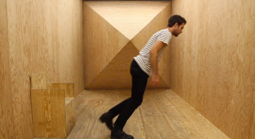 Step Into an Optical Illusion